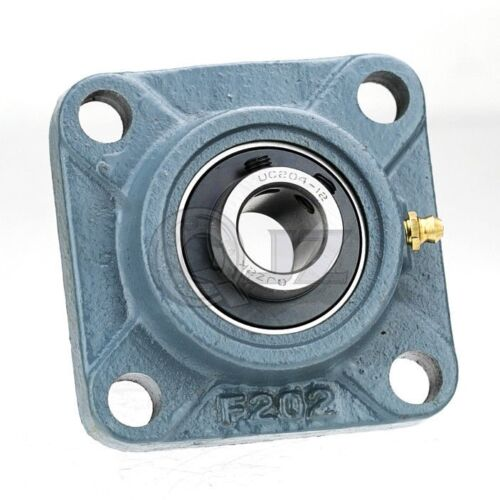 3//4 in Square Flange Units Cast Iron UCF204-12 Mounted Bearing UC204-12+F204