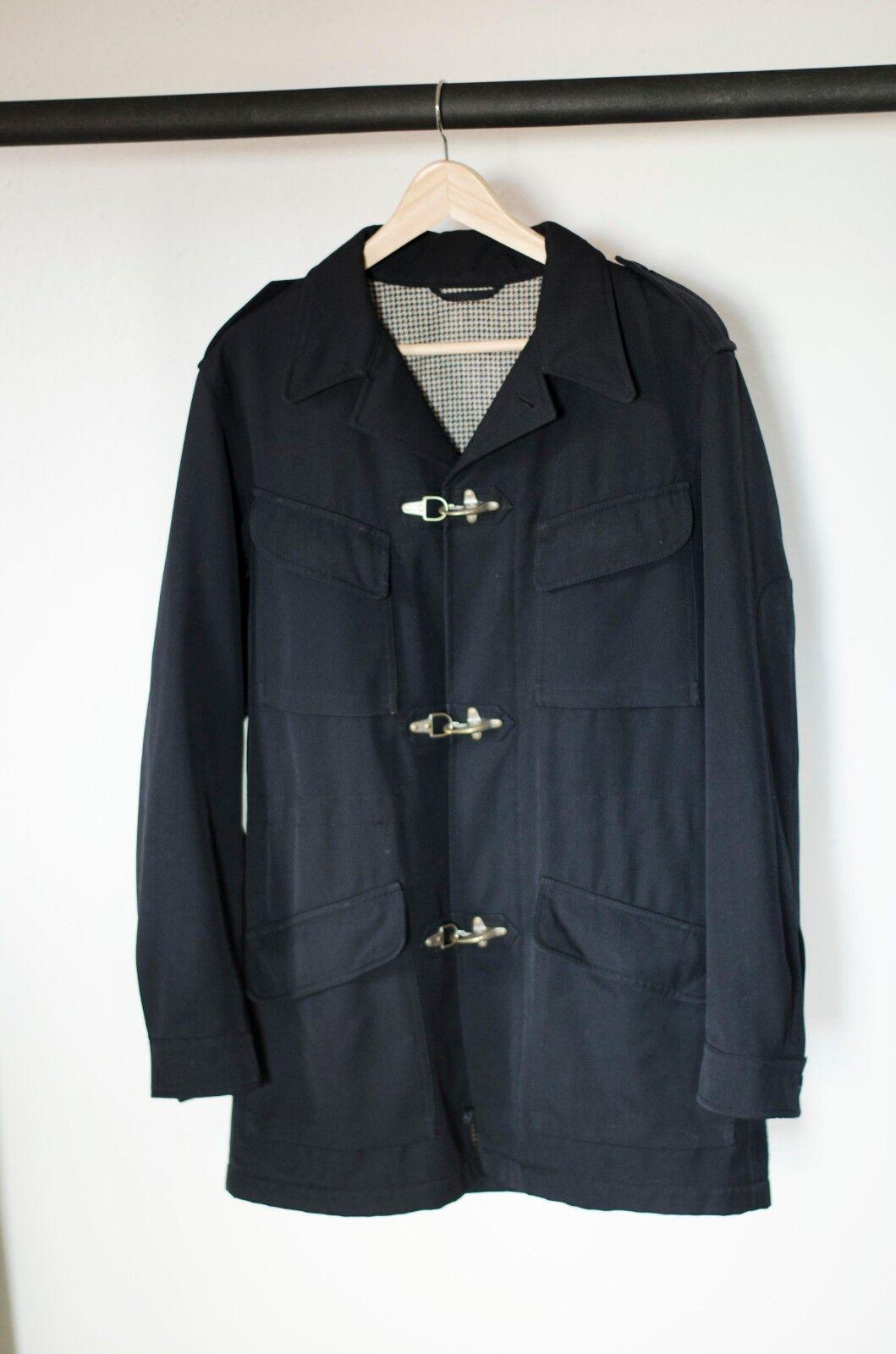 Hugo Navy Duffle Coat M