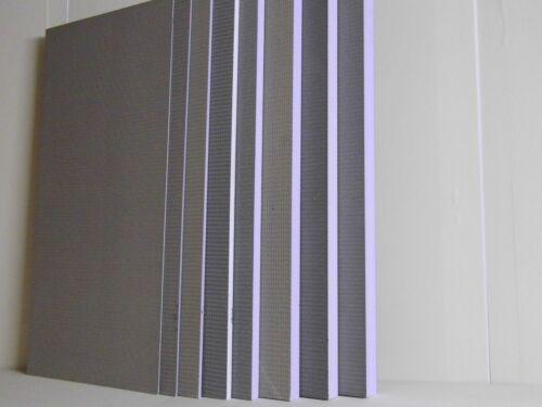XPS Hartschaum Bauplatten 1000x500x4 mm B-Ware Jackoboard plano// Qboard plano