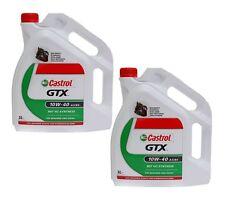(3,58€/L) 2x 5L CASTROL GTX A3/B4 SAE 10W 40 MOTORENÖL MOTORÖL 10W40 VW 501