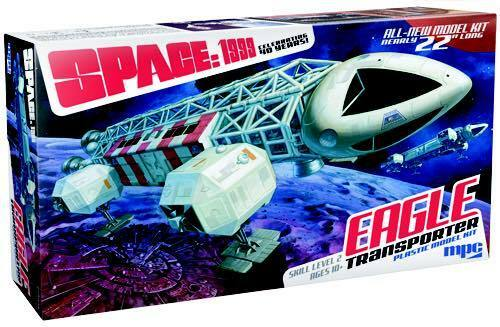 Space 1999 Eagle Transporter 1 Model Kit 22 INCHES Gerry Anderson MPC825 06
