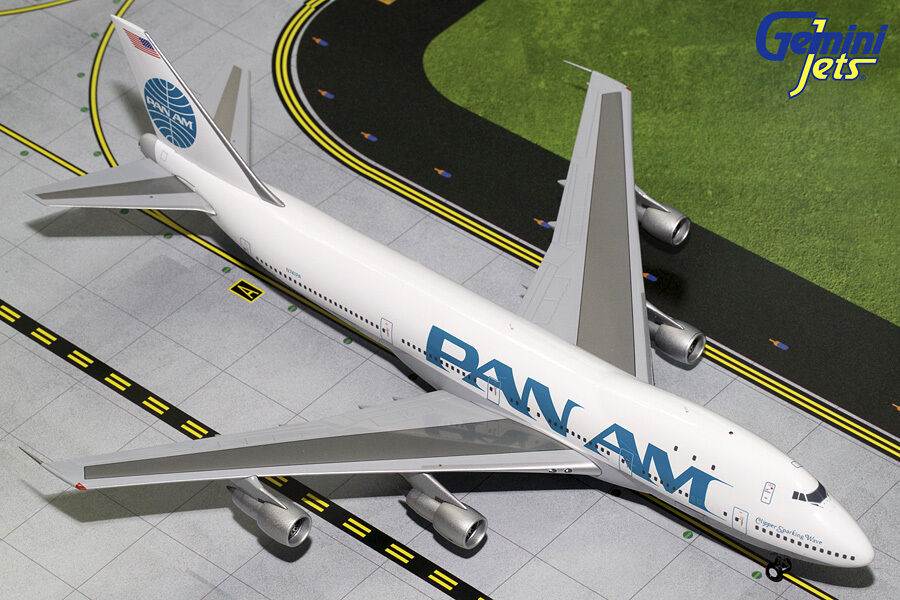 Brand New Gemini Jets 1 200 Pan Am Boeing 747 100 G2PAA619 Qantas