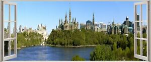 Huge-3D-Panoramic-Canada-Ottawa-Window-View-Wall-Stickers-Mural-287