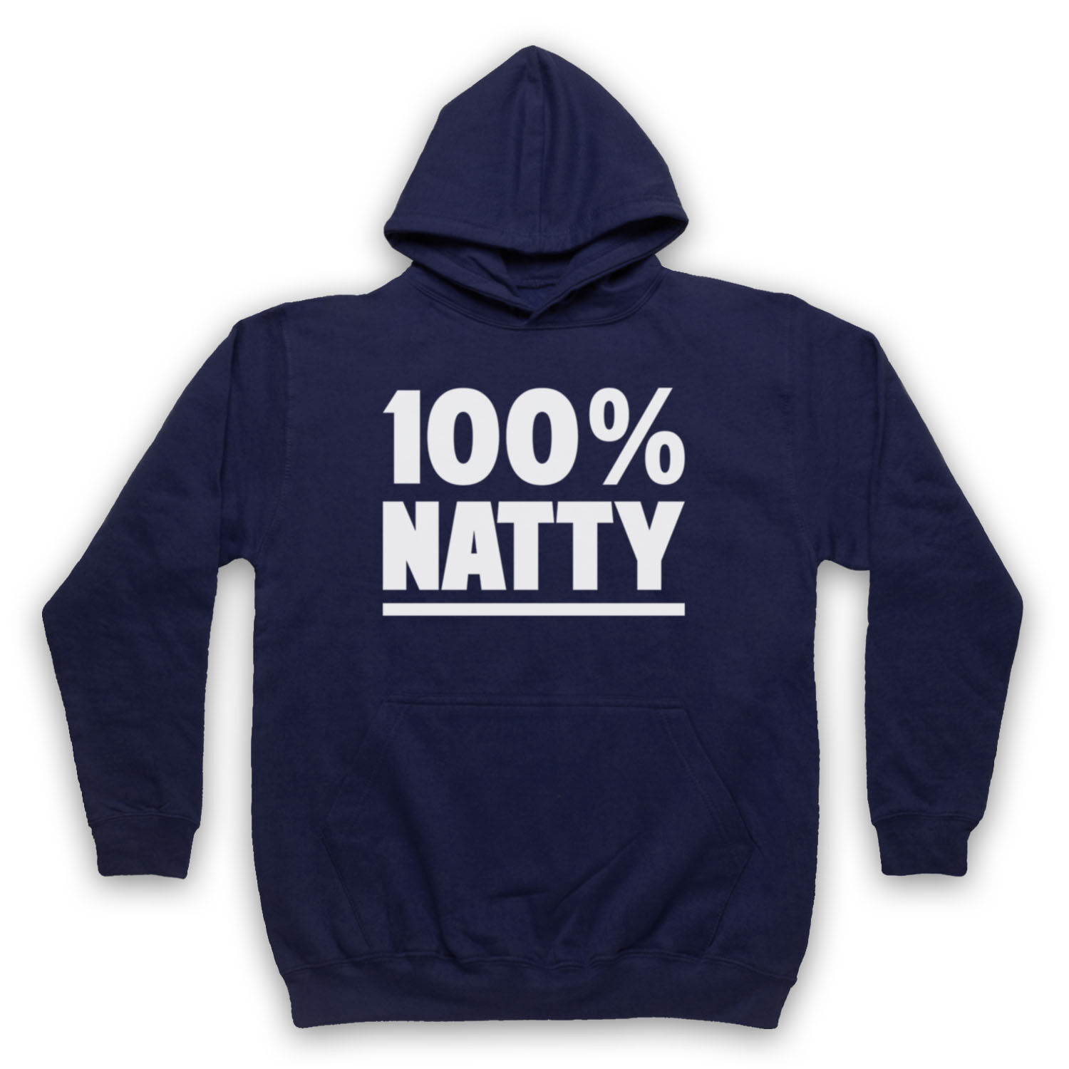 100% NATTY GYM SLOGAN BODYBUILDING WORKOUT WORKOUT WORKOUT MUSCLES ADULTS KIDS HOODIE c06d0b