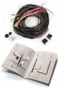 vw type2 bus mid 1960 to 1963 complete wiring harness. Black Bedroom Furniture Sets. Home Design Ideas