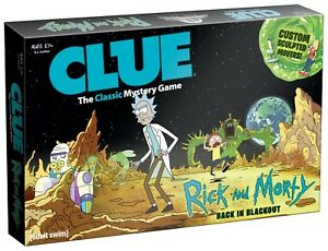 Rick-and-Morty-CLUE-New-Factory-Sealed-2017-AGE-17