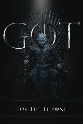 Game of Thrones - Staffel 8 - Night King, The  - Film - Poster - Größe 61x91,5