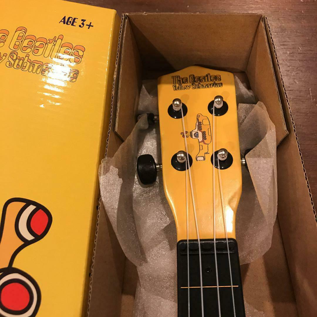 The Beatles Gelb Submarine UKULELE RARE COLLECTIBLE DECOR JHS JAPAN F S