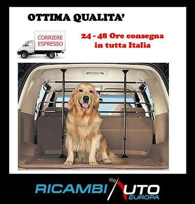 GRIGLIA SEPARATRICE DIVISORIO SEPARATORE BAULE AUTO CANE CITROEN DS3 DS5 SAXO