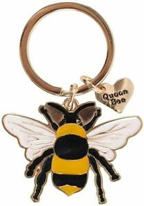 Queen Bee Keyring. Brand New In Packaging