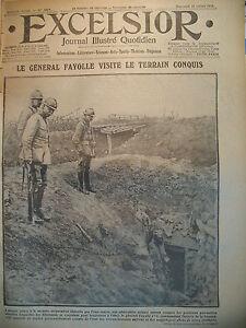 WW1-N-2073-Gal-FAYOLLE-TRANCHeES-DE-LA-SOMME-14-JUILLET-LONDRES-EXCELSIOR-1916