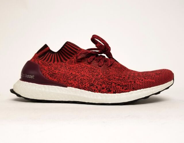 a3f34236e adidas Ultraboost Uncaged Boost Dark Burgundy Tactile Red BY2554 Sz ...