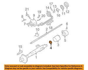 GM Oem Steering Columnbearings 7819517 Ebay. Is Loading Gmoemsteeringcolumnbearings7819517. GM. 1997 GMC Sonoma Steering Column Diagram At Scoala.co