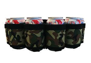 Beer-Belt-Red-Neck-Beer-Holster-Beverage-Belt-Holds-6-Beers-Camo