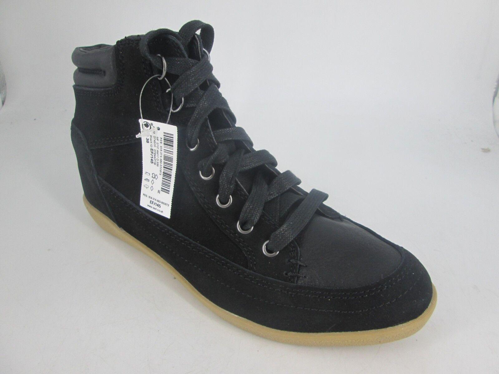 Next Ladies Leather Lace Up Ankle Boots LN089 JJ 03