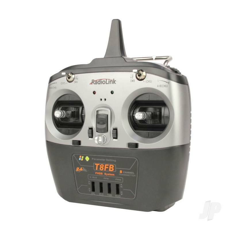 JP Radiolink T8FB 2.4GHz 8-Canal 8-Canal 2.4GHz émetteur + 2x R8EF Récepteurs Radio Control 8af52f