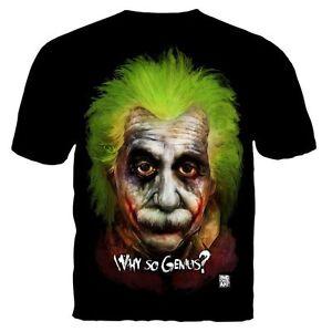 albert einstein why so genius serious emc2 joker batman