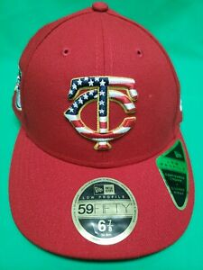 pretty nice 0f634 b7edb Image is loading New-Era-Men-039-s-59FIFTY-Minnesota-Twins-