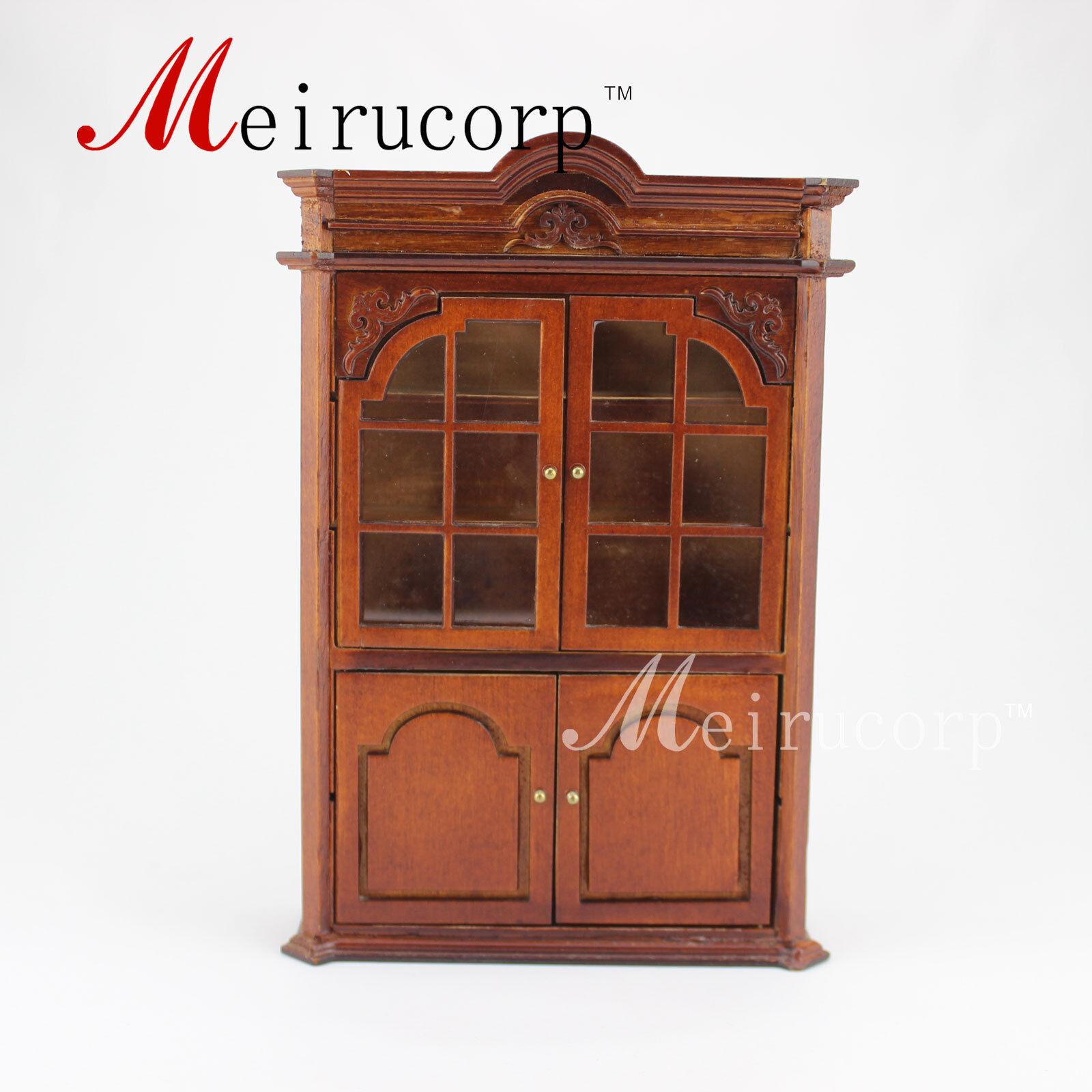 ahorra hasta un 70% Casa de muñecas en miniatura Muebles Fina Fina Fina Escala 1 12 Exquisito hecho a mano Gabinetes  tienda en linea