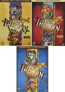 TaleSpin Complete TV Series Volume 1 2 & 3 (1-3) NEW DVD Set Disney Bundle