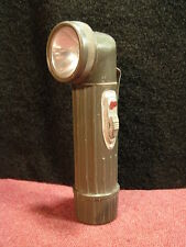 Vintage Ash Flash Hong Kong Angle Flashlight ~ boy scout style