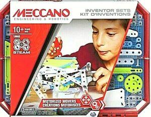 Meccano-Motorised-Movers-STEAM-Building-Kit-Toy-Gift-Boys-Girls-Robotics-Kids