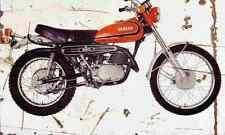 Yamaha DT2 250 1974 Aged Vintage Photo Print A4 Retro poster