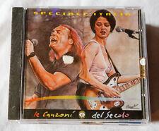 CD CANZONI DEL SECOLO ITALIA compilation 2000 PROMO VASCO ROSSI Carmen Consoli