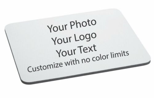 "design Add Your Own Image 12/"" x 18/"" Custom Mouse Pad Personalized Photo logo"