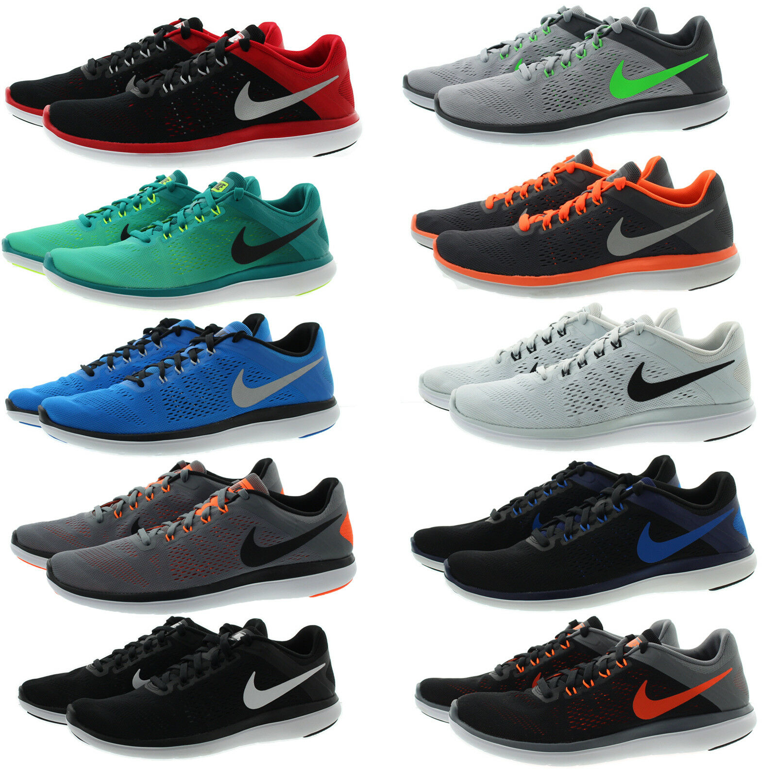 Nike 830369 Mens Flex RN Cross Training Performance Running shoes Sneakers