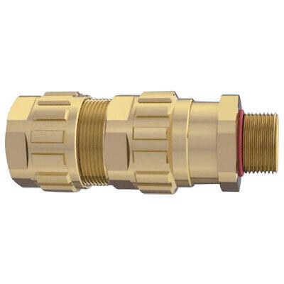 "Draka Hazardous Area Cable Gland 3//4/"" NPT For 0.453/""-0.827/"" Nickel Plated Brass"