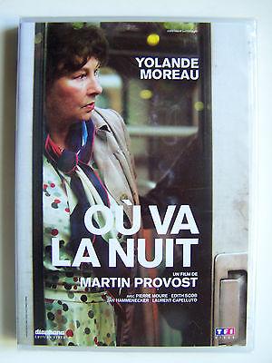 OU VA LA NUIT - MARTIN PROVOST, YOLANDE MOREAU - DVD NEUF ET EMBALLE -