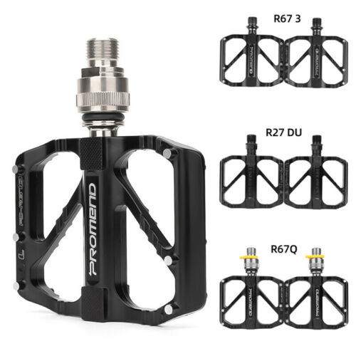 Aluminum Alloy Bicycle Pedals Flat MTB Road Bike Pedal Footboard For Promend