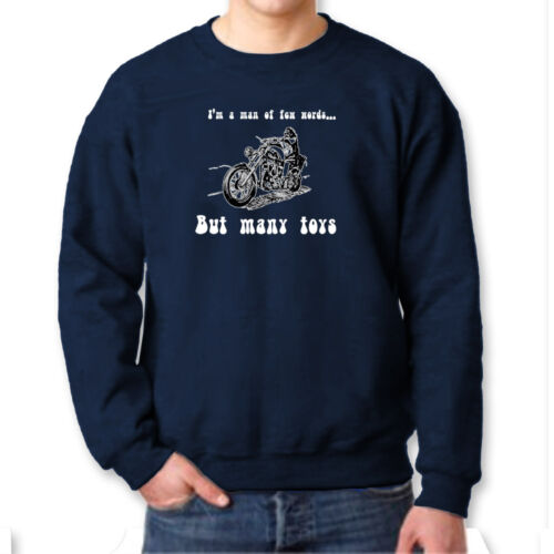 I/'m A Man Of Few Words But Many Toys T-shirt Funny Fathers Day Crew Sweatshirt