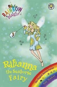 Rihanna-the-Seahorse-Fairy-Rainbow-Magic-by-Daisy-Meadows-Acceptable-Used-Boo