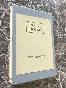 Ethan Frome, by Edith Wharton~ BEST Facsimile of 1911 First Edition