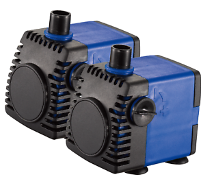 Pond & Fountain Pumps 2x 320gph Adjustable Submersible Water Pump Aquarium Fish Fountain Hydroponic To Have Both The Quality Of Tenacity And Hardness