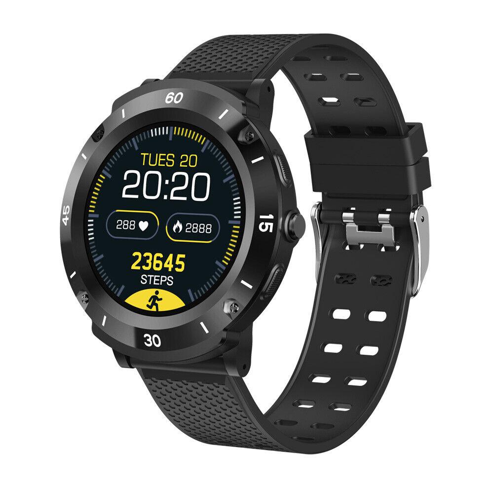 Smart Watch Heart Rate Blood Pressure Health Monitor Sport Bracelet for Men Boys blood bracelet Featured health heart monitor pressure rate smart sport watch