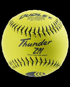 Dudley Thunder ZN Stadium Stamp 12″ USSSA 47//450 Slowpitch Softball 1 Dozen
