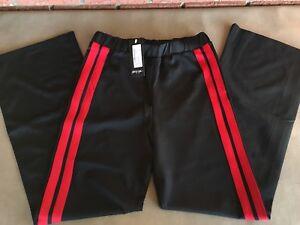 nasty gal line by me stripe pants size m l