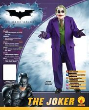 Batman The Dark Knight Deluxe The Joker Costume, Black/Purple, Plus Size