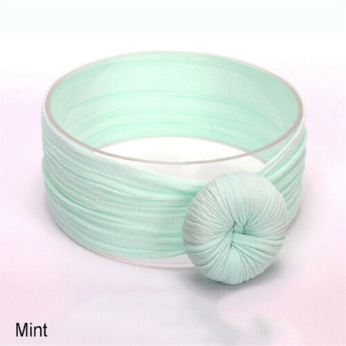 Baby Girls Toddler Knot Hair Band Headband Stretch Turban Head Wrap Accessories