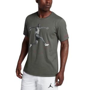 2489eaa3d1559b SZ 2XL 🆕🔥😊 Nike Air Jordan 5 Retro One Men s Tee T-Shirt Green ...