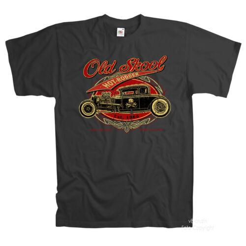 Vintage Hot Rod Rockabilly Auto Rat Atelier Kustom Speed Shop T-Shirt 1277
