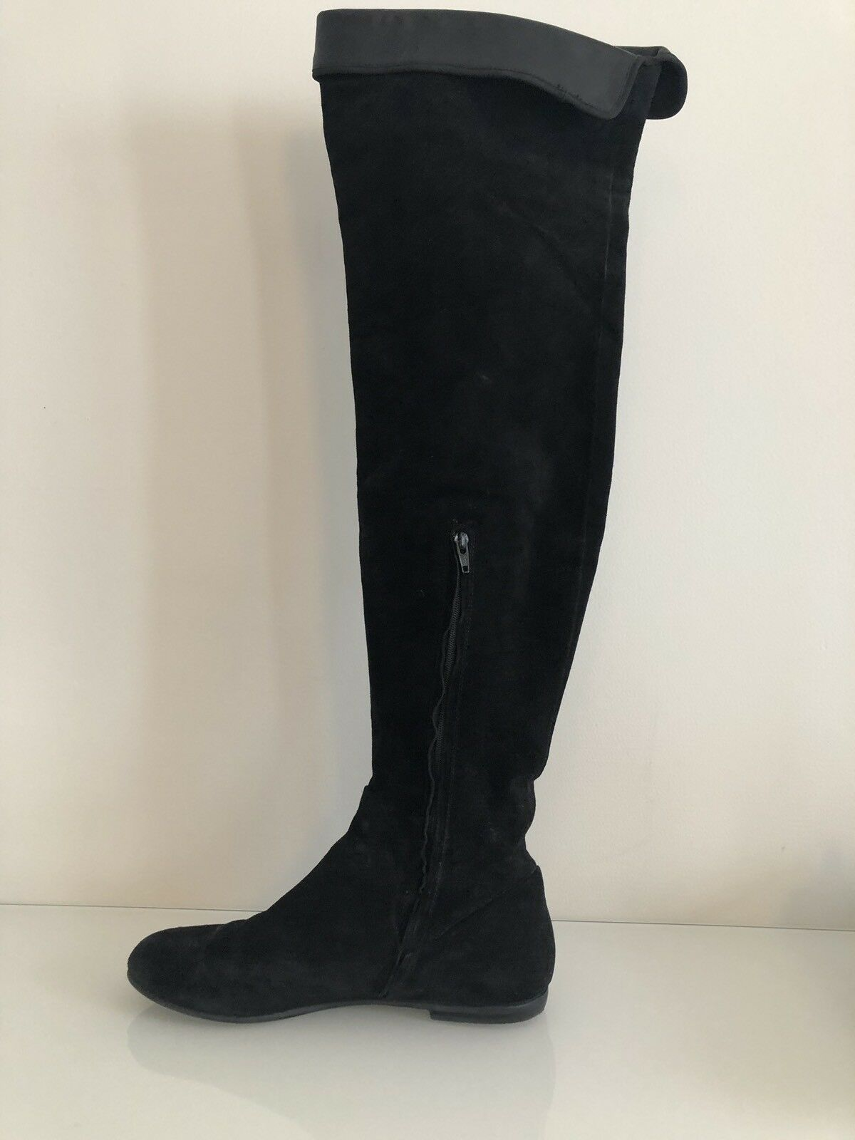 Giuseppe Zanotti Over Over Over The Knee Stiefel Suede With Leather Cuff 169ca4
