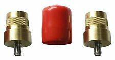 BRASS SMALLER M6 BATTERY POST TO SUIT 100AMP AGM TERMINALS DEEP CYCLE BATTERIES
