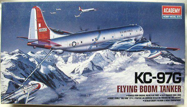 ACADEMY 1 72 KIT MONTAGGIO AEREO KC-97G FLYING BOOM TANKER ART 1605