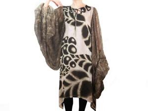 Roberto-Cavalli-Silk-Caftan-Dress-Womens-Size-IT-40-US-4-3280