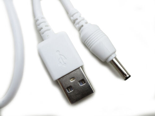 90cm USB White Charger Power Cable for BT 400 Baby/'s Unit Digital Baby Monitor