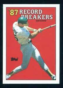 Lot-Of-50-1988-Topps-Baseball-Mark-Mcgwire-039-87-Record-Breakers-Card-3-Correct